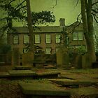 The Bronte Parsonage, Haworth by Sandra Cockayne