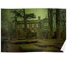 The Bronte Parsonage, Haworth Poster