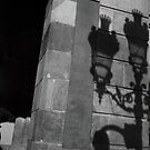 Tourist - Barcelona - Shadow on the wall by busteradams