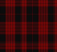 00562 Cameron Red & Black Dress Clan/Family Tartan by Detnecs2013