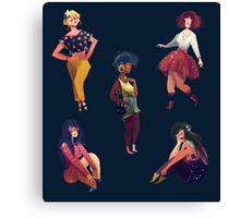 Cool Girls Canvas Print