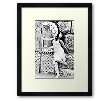 Small town beauty Framed Print