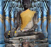 Black Buddha by Gilberte