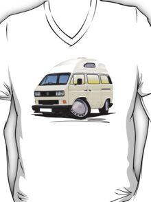 VW T25 / T3 [SQ] (High Top) White T-Shirt