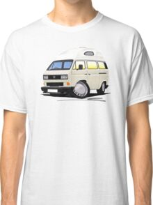 VW T25 / T3 [SQ] (High Top) White Classic T-Shirt