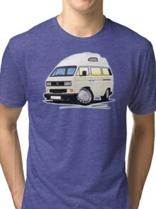 VW T25 / T3 [SQ] (High Top) White Tri-blend T-Shirt