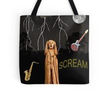 The Scream World Tour  Scream Rocks Scream Tote Bag