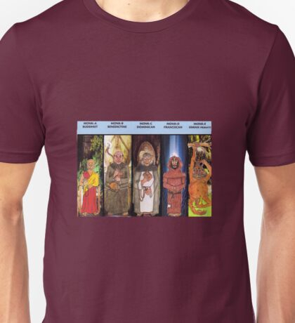Monks Unisex T-Shirt