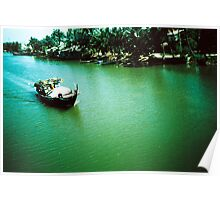 Tourist - Vietnam - Boat on the Mekong River 2# Poster