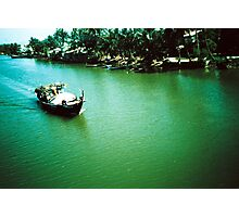 Tourist - Vietnam - Boat on the Mekong River 2# Photographic Print