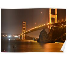 The Mighty Golden Gate Poster