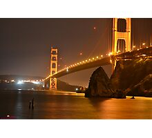 The Mighty Golden Gate Photographic Print