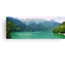 """Riza"" lake Canvas Print"