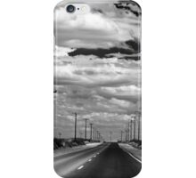 Power Lines to the End of the Road iPhone Case/Skin