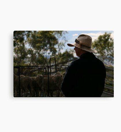 Aussie Stockman Canvas Print
