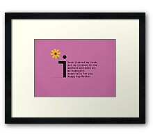 Happy Day Mother Framed Print