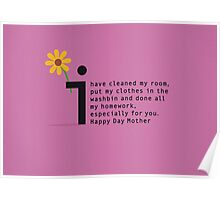 Happy Day Mother Poster