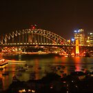 Sydney Harbour Lights by Michael Matthews