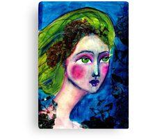 Angel eyes Canvas Print