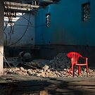 The Red Chair by AjayP