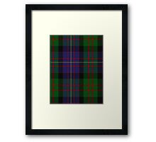 00563 Cameron of Erracht Military Tartan  Framed Print