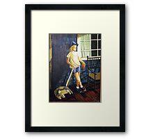 BOY LIKE BRENT Framed Print