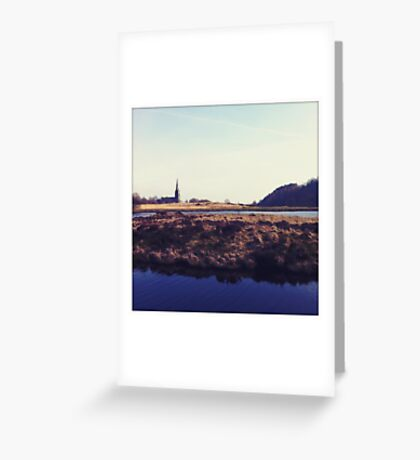 Wards Reservoir, Belmont Greeting Card
