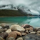 Lake Louise, Banff National Park, Alberta, Canada by Margaret Metcalfe