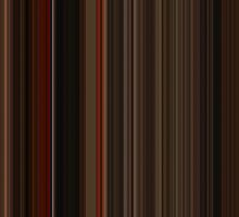 Moviebarcode: Gone with the Wind (1939) [Simplified Colors] by moviebarcode