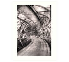 Abstract Bridge Art Print