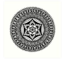 """The Heart"" Sacred Geometry Mandala Art Print"