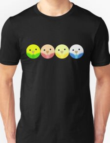 Roly Poly Parakeets T-Shirt