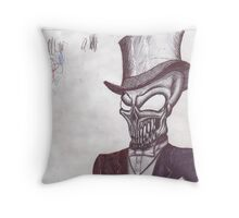 Classy Death Throw Pillow