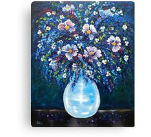 Spring Bouquet - oil painting Canvas Print