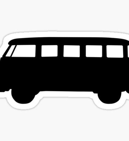 Split window type 2 silhouette Sticker