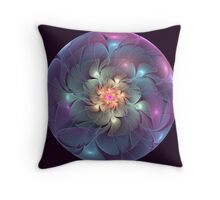 Trapped Blossom Throw Pillow