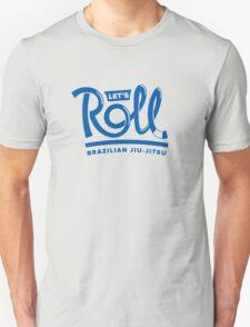 Let's Roll Brazilian Jiu-Jitsu Blue Belt T-Shirt
