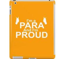 Proud Para-Equestrian iPad Case/Skin