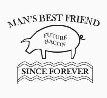 Future Bacon - black design One Piece - Short Sleeve