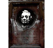 Memory park in Edinburgh Photographic Print