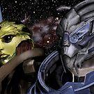 My Beautiful Boys Mass Effect by dmbarnham