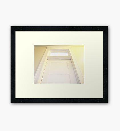 Knock Knock... Framed Print