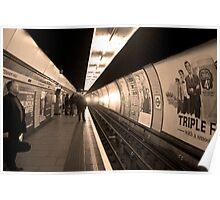 Sepia Series Number 3 Poster