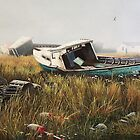 """Fishing Relics"" by Frank Boudreau"