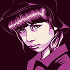 Pop Art Portrait by CarolinaMatthes