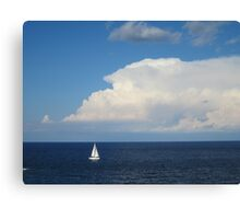 Fun time in Malta Canvas Print