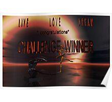 Live Love Dream...banner (challenge) Poster