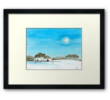 WINTER BEAUTY 01 Framed Print