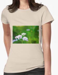 Flowers in the Garden Womens Fitted T-Shirt