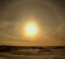 Sunspots over Toronto by Erin Fitzgibbon